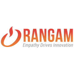 Rangam Logo with tagline, Empathy Drives Innovation