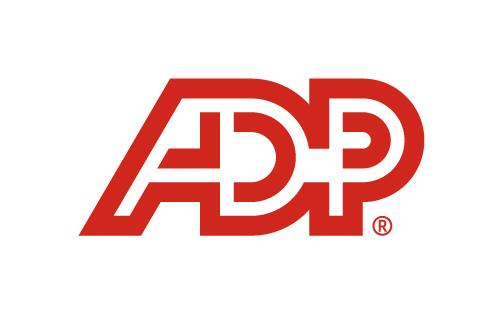 ADP logo.