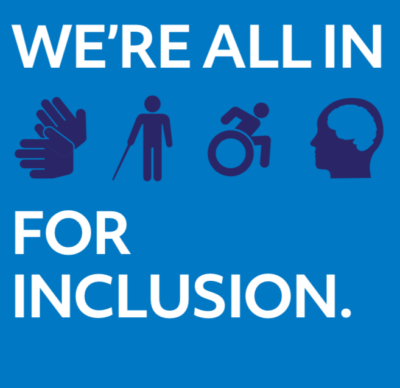 We're all IN for Inclusion
